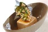 あんかけ豆腐の鶏そぼろの作り方3