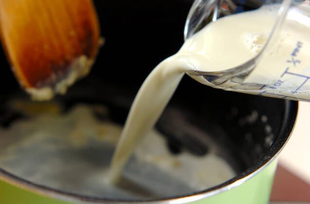 ミルクソースがけ鮭のムニエルの作り方の手順2
