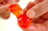 プチトマトの香菜サラダの作り方1