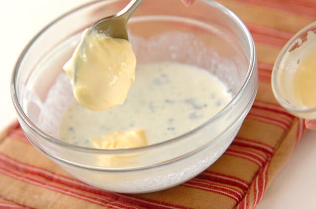 キャベツの温サラダチーズソースの作り方の手順5