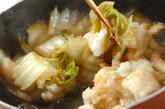 タラと白菜のおろし煮の作り方3