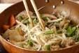 根菜のきんぴらの作り方1