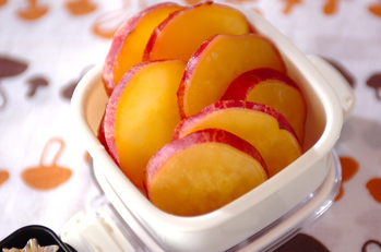 サツマイモの甘煮