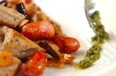 レンコンのピリ辛ガーリック炒めの作り方3
