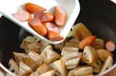 レンコンのピリ辛ガーリック炒めの作り方2