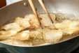 揚げたまご・お醤油での作り方1