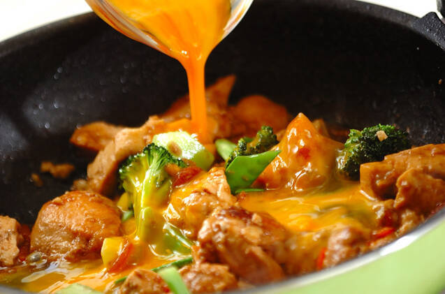 炒り鶏豆腐の作り方の手順9