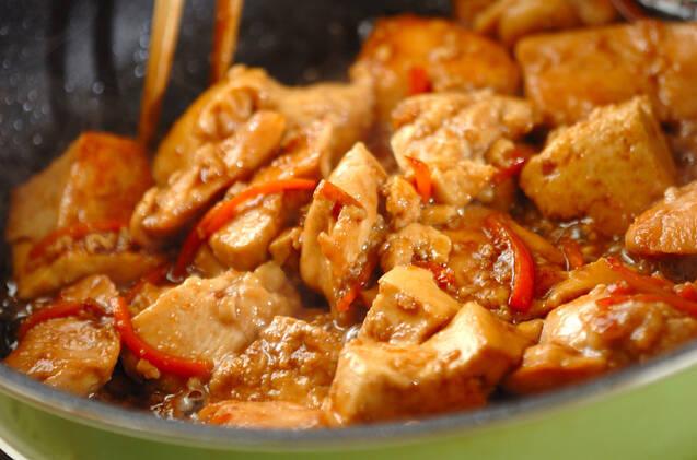 炒り鶏豆腐の作り方の手順8
