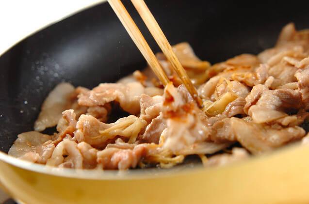 豚肉と切干し大根の炒め物の作り方の手順5