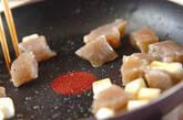 ちぎりコンニャクの甘辛炒めの作り方1