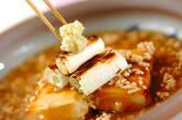 焼き餅のそぼろあんかけの作り方6