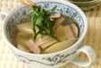 タケノコとハムのスープの作り方2