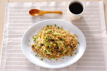 ジャコ発芽玄米チャーハン