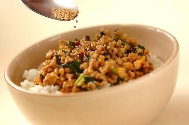 坦々ご飯の作り方の手順4