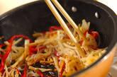 しらたきと野菜のきんぴらの作り方6