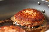 ココナッツカレーハンバーグの作り方3