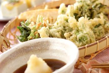 春の香り天ぷら