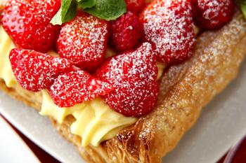 イチゴのパイ