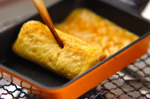 エノキ入り卵焼きの作り方の手順2