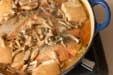 鮭と野菜のみそ蒸し煮の作り方3