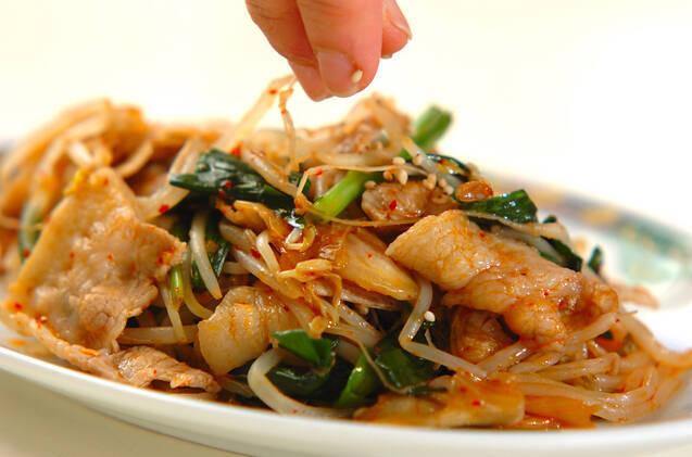 豚肉のキムチ炒めの作り方の手順6