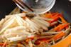 根菜3種のきんぴらの作り方の手順4