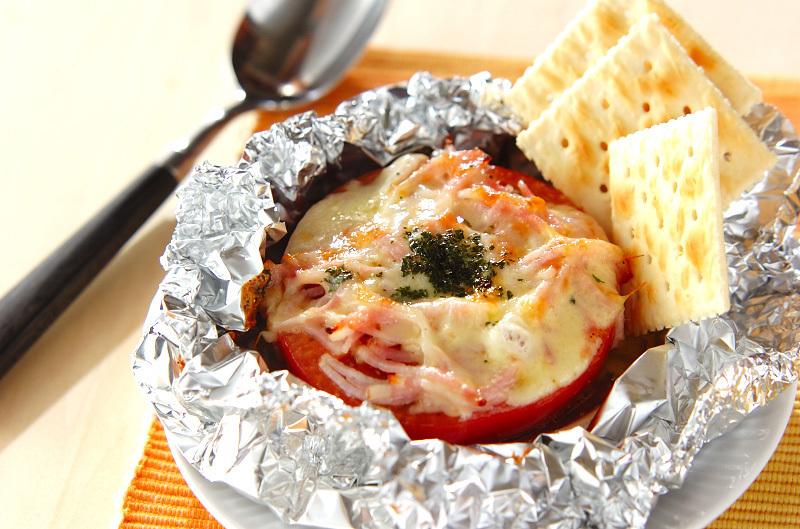 トマトのホイル焼き