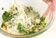ホタテ風味の大根サラダの作り方1