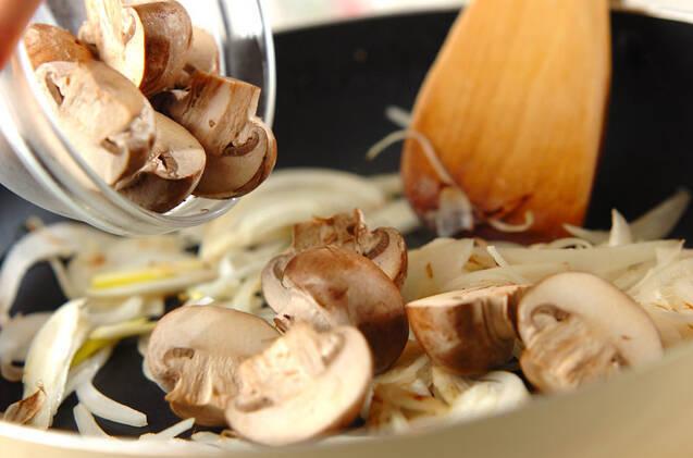 鶏のクリームマスタード煮の作り方の手順5