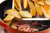 ジャガイモのガーリックソテーの作り方2