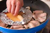 パリパリ鶏皮焼きの作り方4