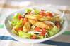 焼きナスサラダの作り方の手順