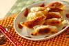 キムチ餃子の作り方の手順