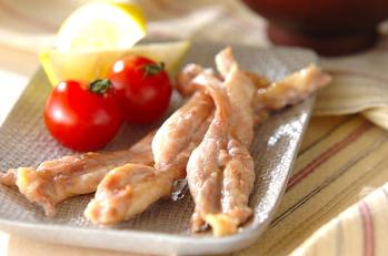 鶏肉の塩焼き