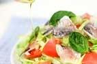 新鮮アジのサラダの作り方3
