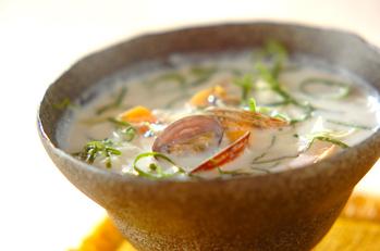 アサリのミルクスープ