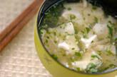 豆腐のフルフル汁