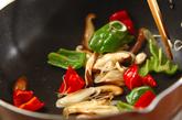 揚げ豆腐の甘辛炒めの作り方2