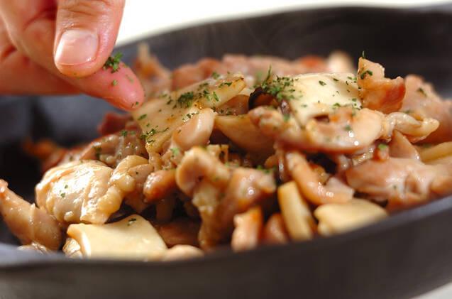 鶏とエリンギの塩麹炒めの作り方の手順3