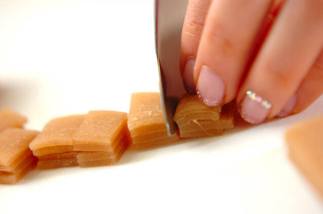 八つ橋アイスの作り方の手順1