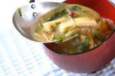 ブラウンエノキのみそ汁の作り方2