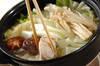 あったか鶏鍋の作り方の手順4