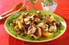 鶏肉とジャガイモのガーリック炒めの作り方の手順