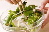 鶏ささ身とザーサイのサラダの作り方3