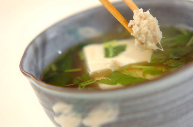 豆腐のショウガスープの作り方の手順6