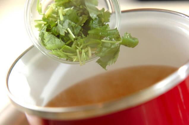 豆腐のショウガスープの作り方の手順5