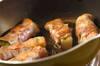 ピリ辛肉巻き餅の作り方の手順4