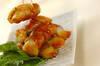 ピリ辛肉巻き餅の作り方の手順5