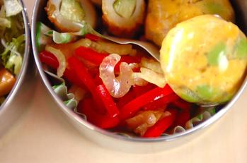 パプリカのサッパリサラダ