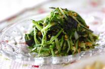 水菜ナムル